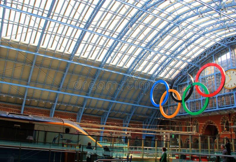 Course Des Jeux Olympiques 2012 De Londres Image éditorial