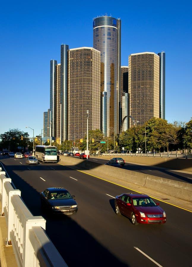 Course Detroit photographie stock