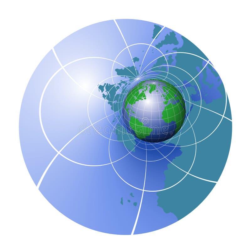 Course du monde illustration stock