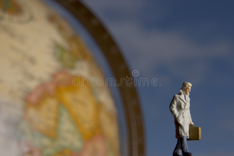 Course globale photo stock