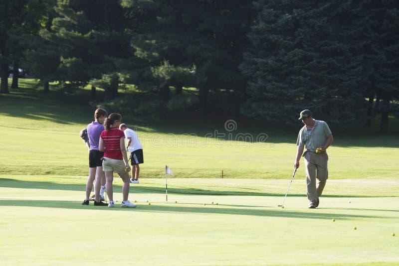 course golf royaltyfria bilder