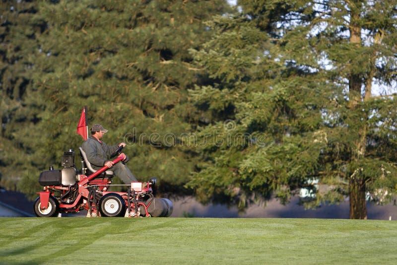 course golf groundskeeper στοκ εικόνες με δικαίωμα ελεύθερης χρήσης