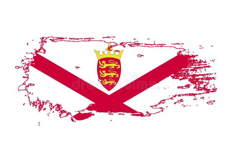 Course grunge de brosse avec le drapeau national de débardeur Drapeau de peinture d'aquarelle Symbole, affiche, bannière Vecteur  illustration de vecteur