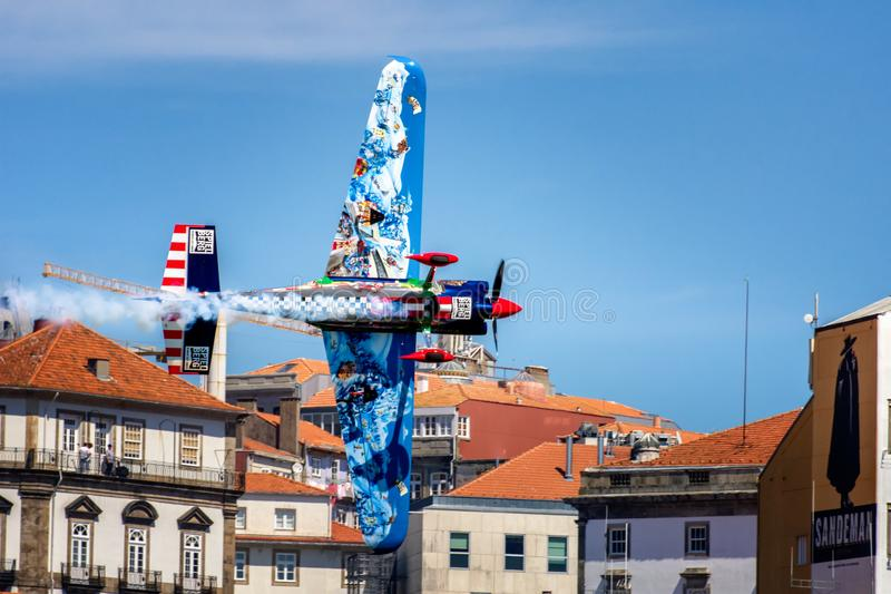 Course Porto 2017 d'air de Redbull image stock