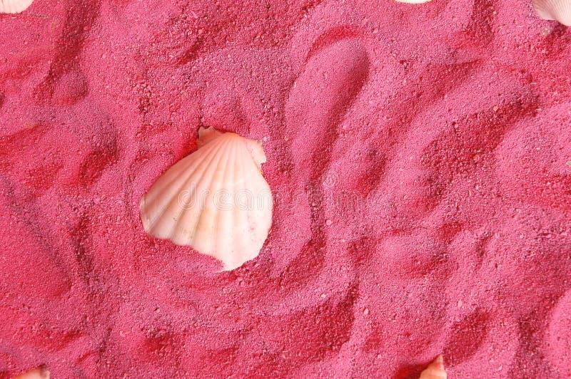Course rose de sables images libres de droits