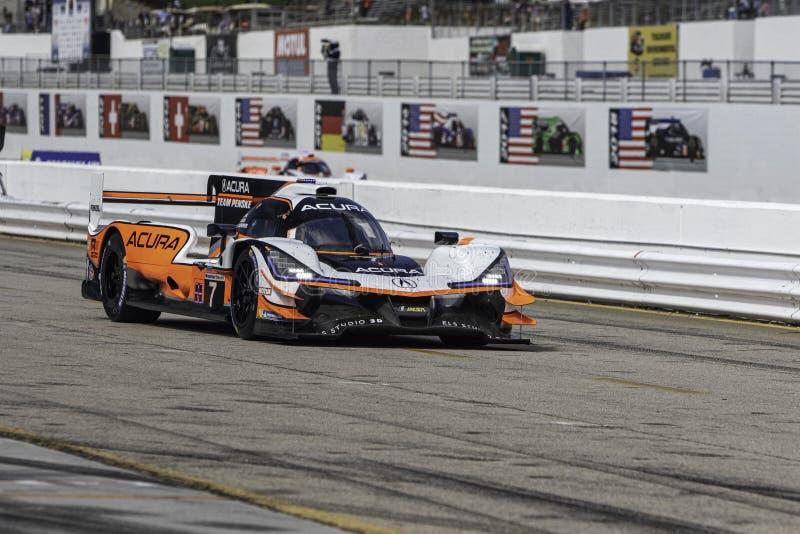 Course routière de Petite Le Mans image stock