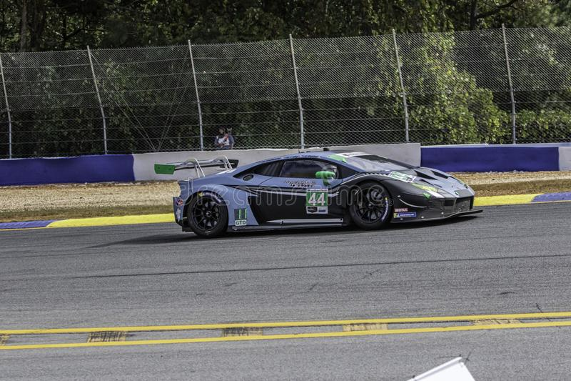 Course routière de Petite Le Mans image libre de droits