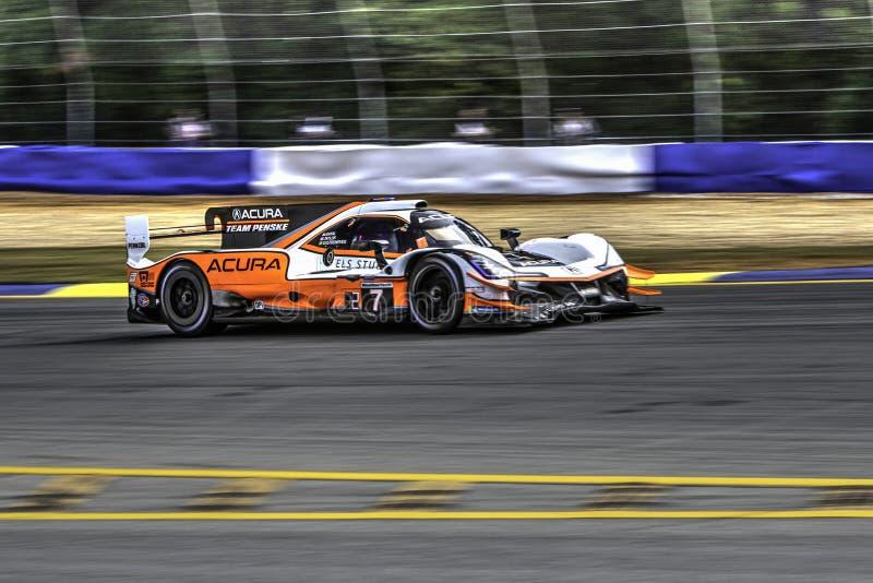 Course routière de Petite Le Mans photos libres de droits