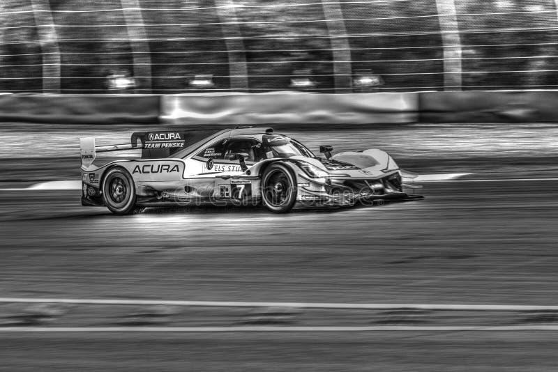 Course routière de Petite Le Mans photos stock