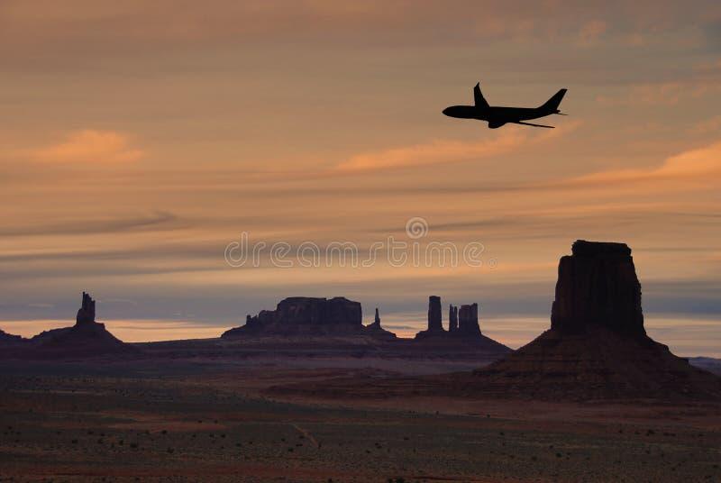 Course vers l'Arizona photographie stock libre de droits