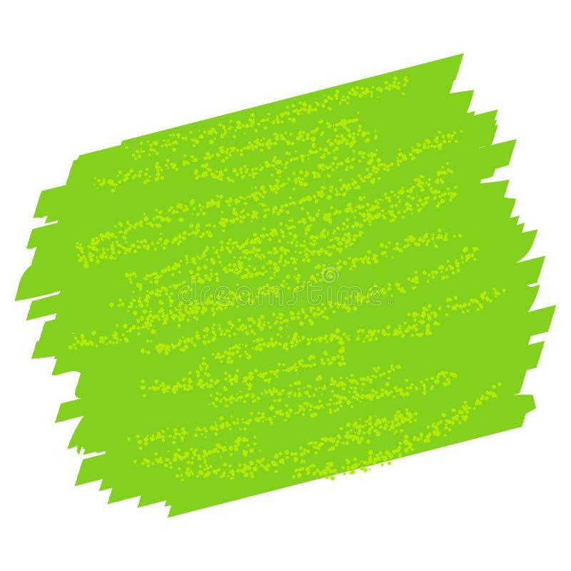 Course verte de couleur d'eau de texture illustration stock