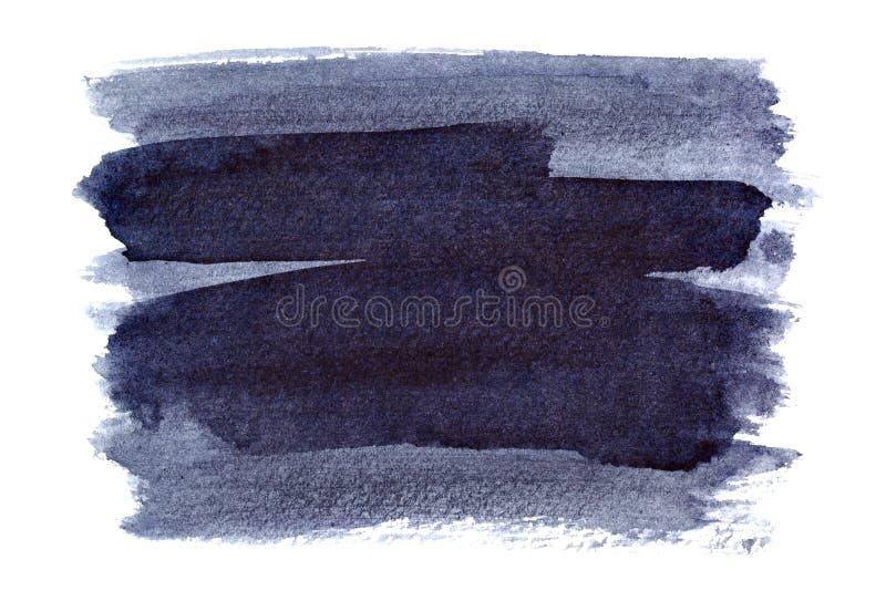 Courses bleuâtres de brosse illustration de vecteur
