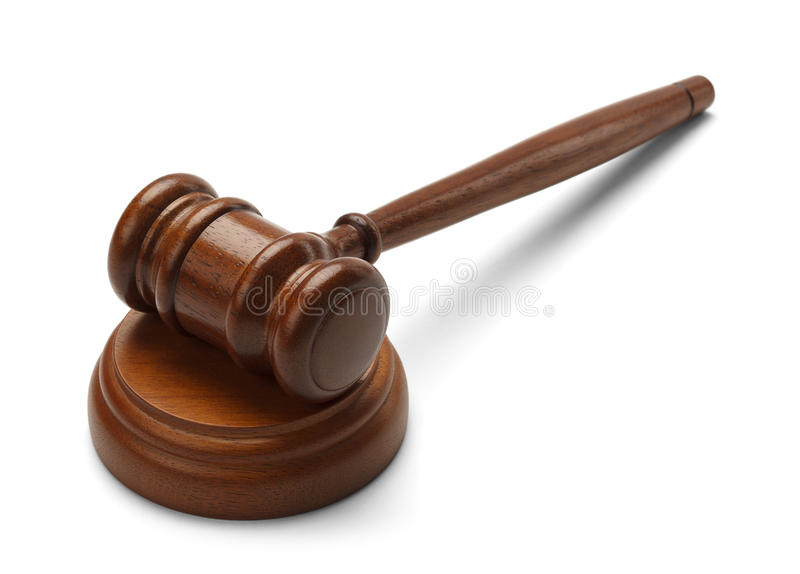 Court Adjourned royalty free stock images