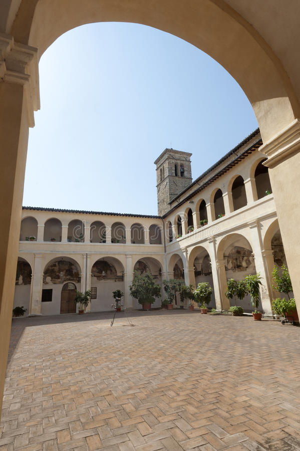Download Court Of Ancient Palace In Bevagna Stock Photo - Image of umbria, bevagna: 23286388