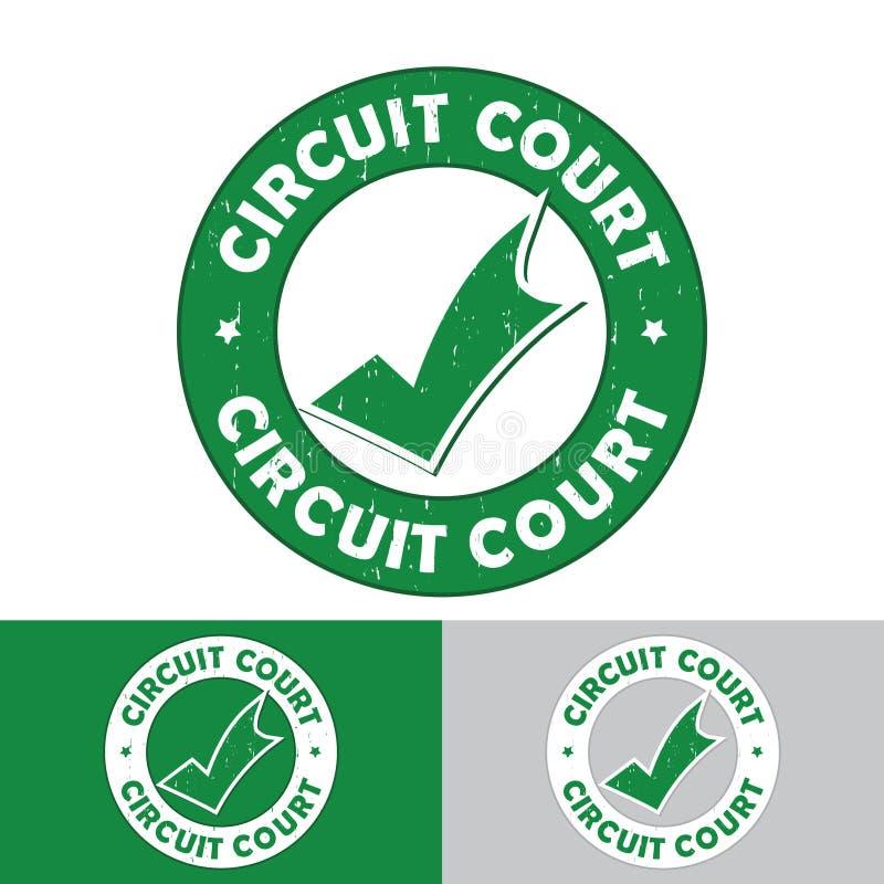 Court-circuit - ensemble de timbres/d'autocollants conçus pour le marché français de nourriture illustration de vecteur
