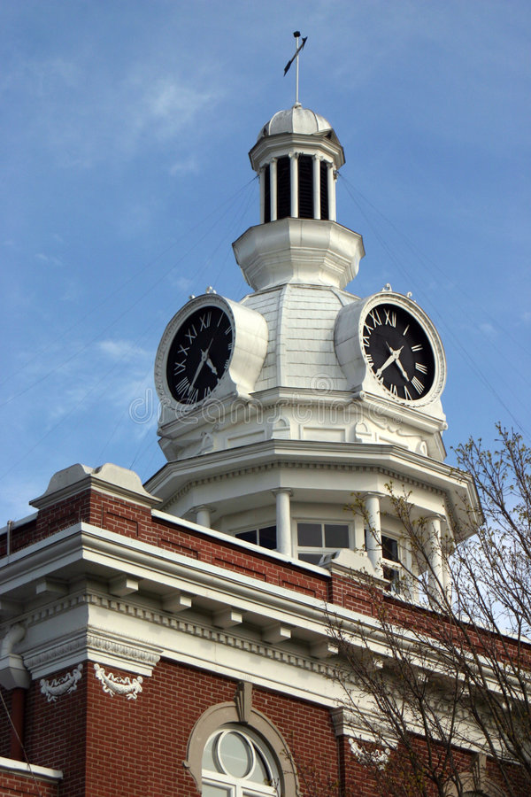 Court Clock 1 royalty free stock photos