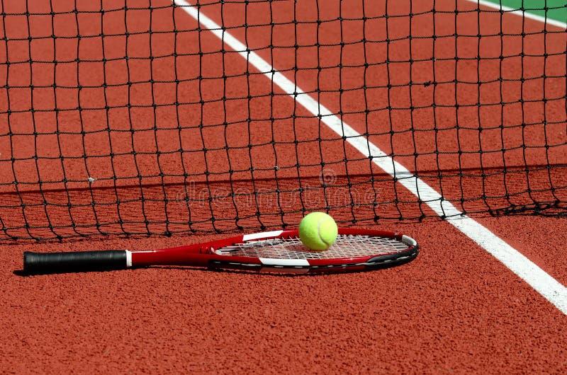 Court de tennis images stock