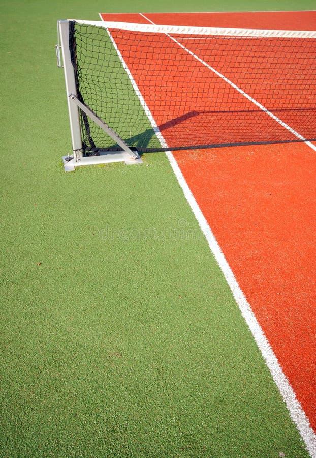 Court de tennis image stock