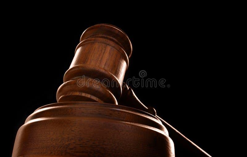 Court gavel stock photography