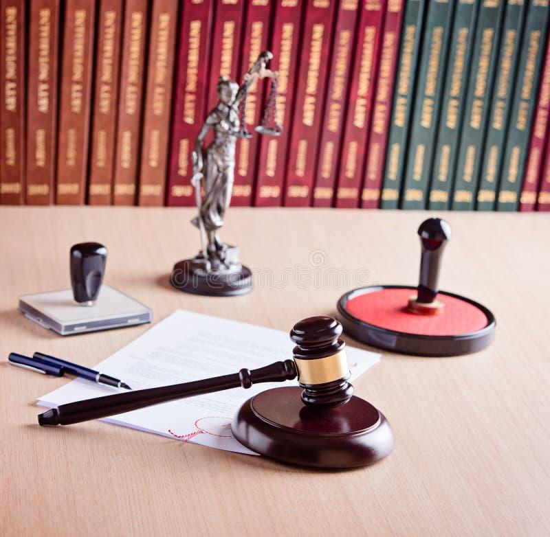 Court Judge s gavel stock image