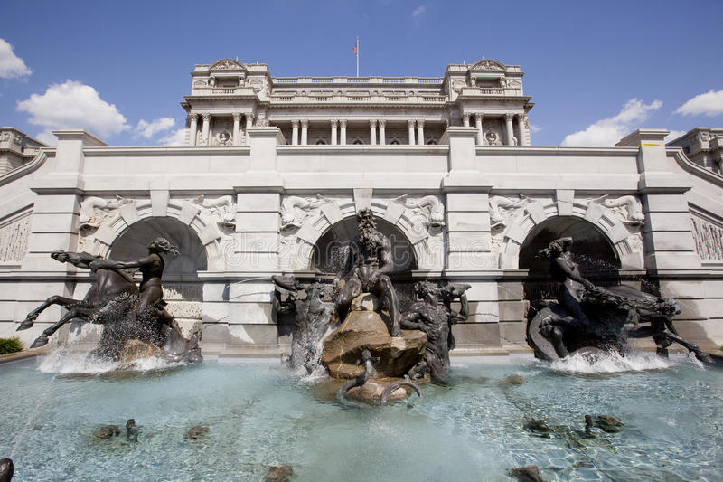 The Court of Neptune Fountain royalty free stock photo