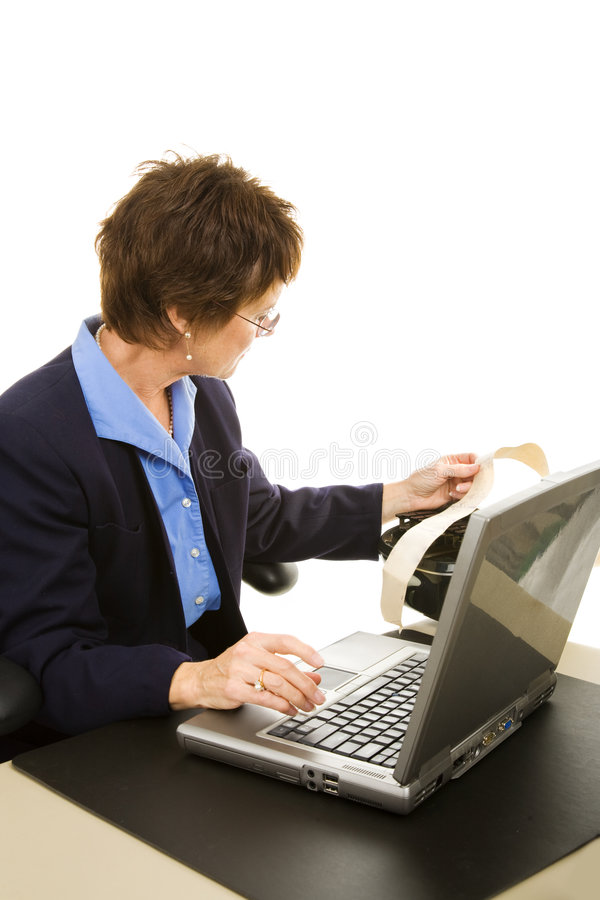 Download Court Reporter Transcribing Stock Photo - Image: 7837300