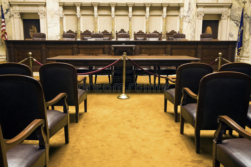 Court Room Royalty Free Stock Photography