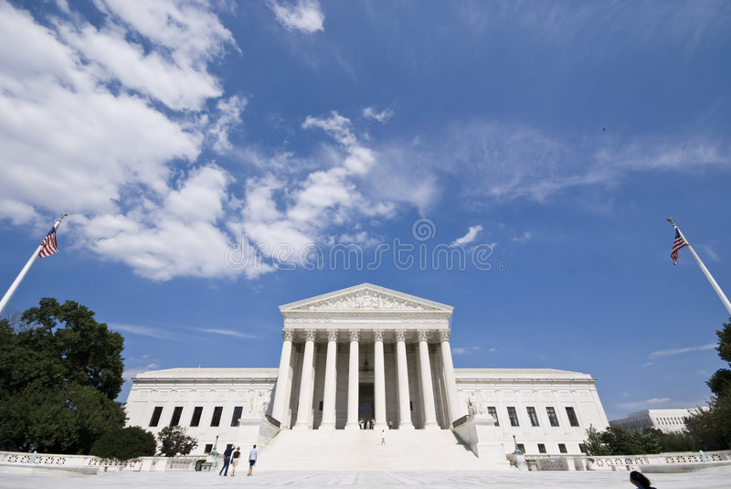 Court suprême photos stock