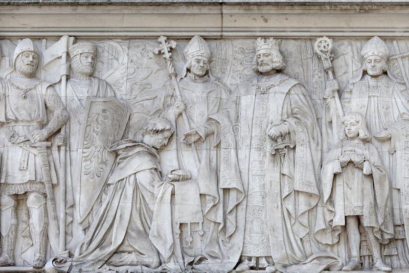 Court suprême bâtiment de palais de corporations de Royaume-Uni, Middlesex, Londres, Royaume-Uni images stock