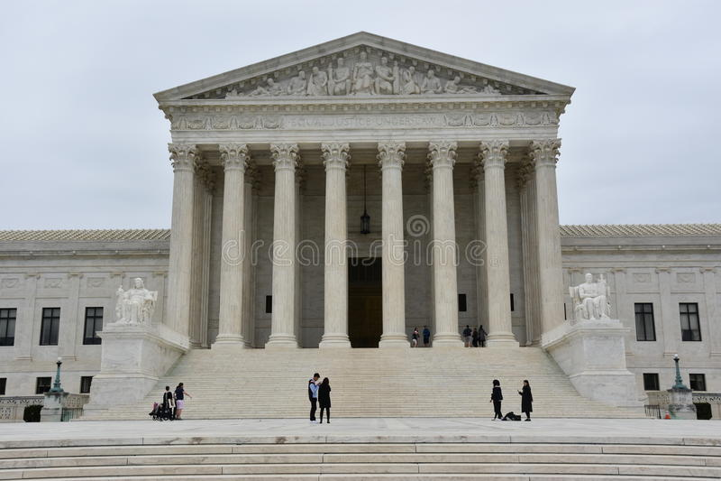 Court suprême des Etats-Unis image stock