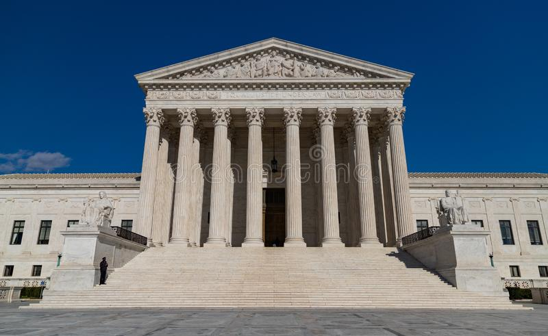 Court suprême des Etats-Unis III images stock
