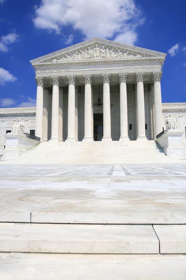 Court suprême des USA, avant photos libres de droits