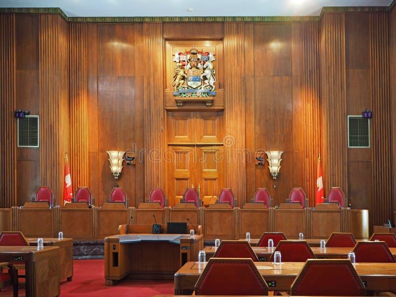 Court suprême du Canada image stock