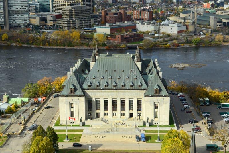 Court suprême du Canada, Ottawa photo libre de droits
