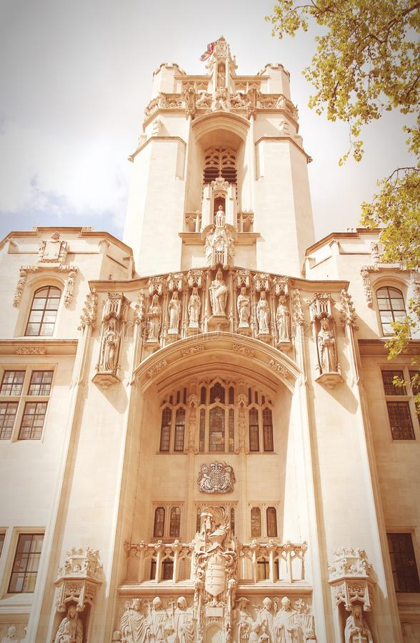 Court suprême du Royaume-Uni photo stock