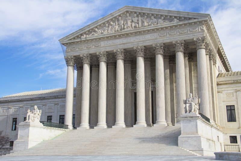 Court suprême, Etats-Unis d'Amérique photo libre de droits