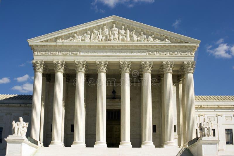 Court suprême par jour photographie stock