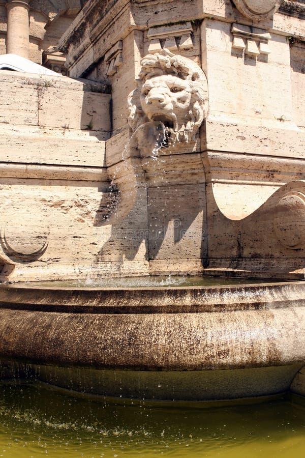 Court suprême Rome Italie de fontaine photos stock
