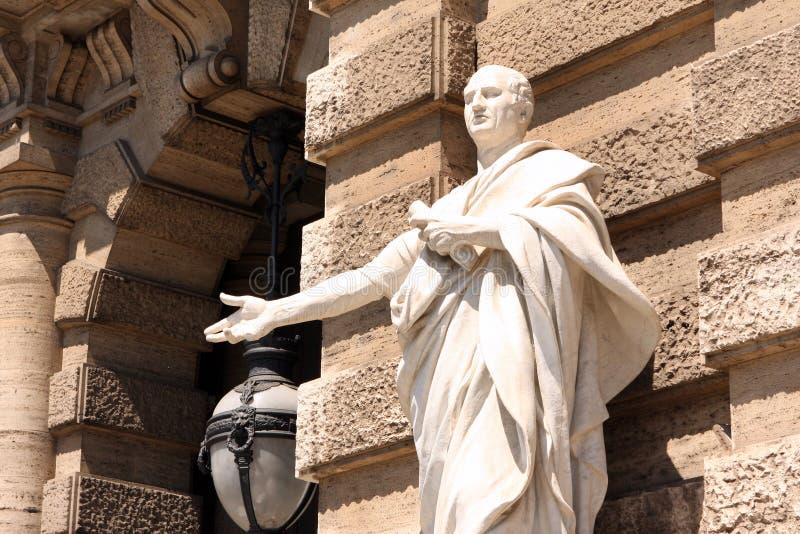 Court suprême Rome Italie de sculpture photos stock