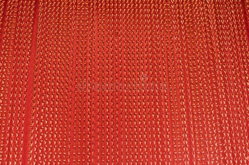 Courtain vermelho da corda imagem de stock royalty free