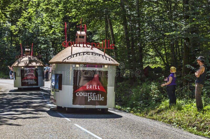 Courtepaille-Restaurant-Fahrzeuge
