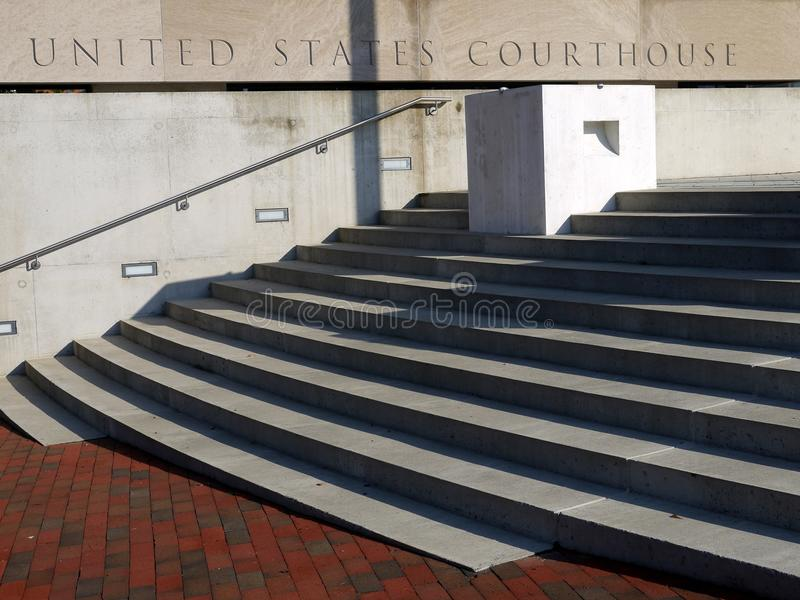 Download Courthouse Entry Steps Royalty Free Stock Image - Image: 20275346