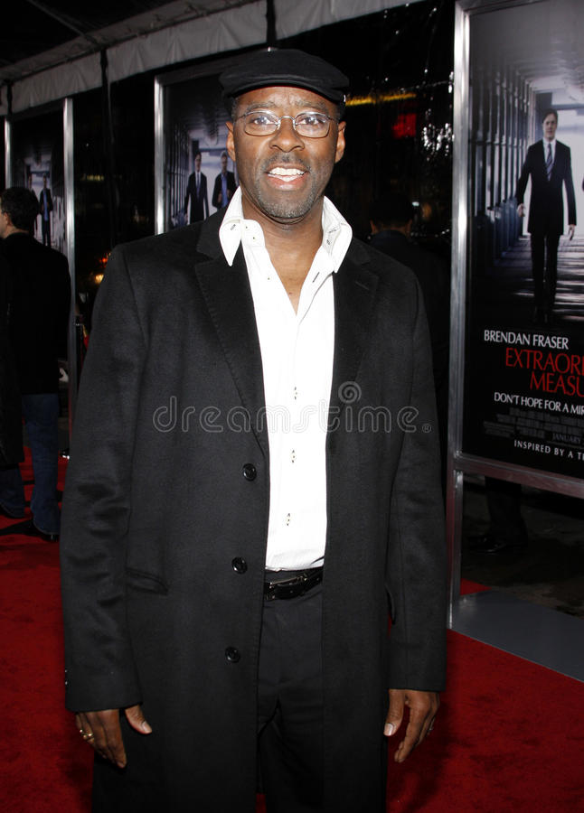 Courtney B vance royalty-vrije stock foto's