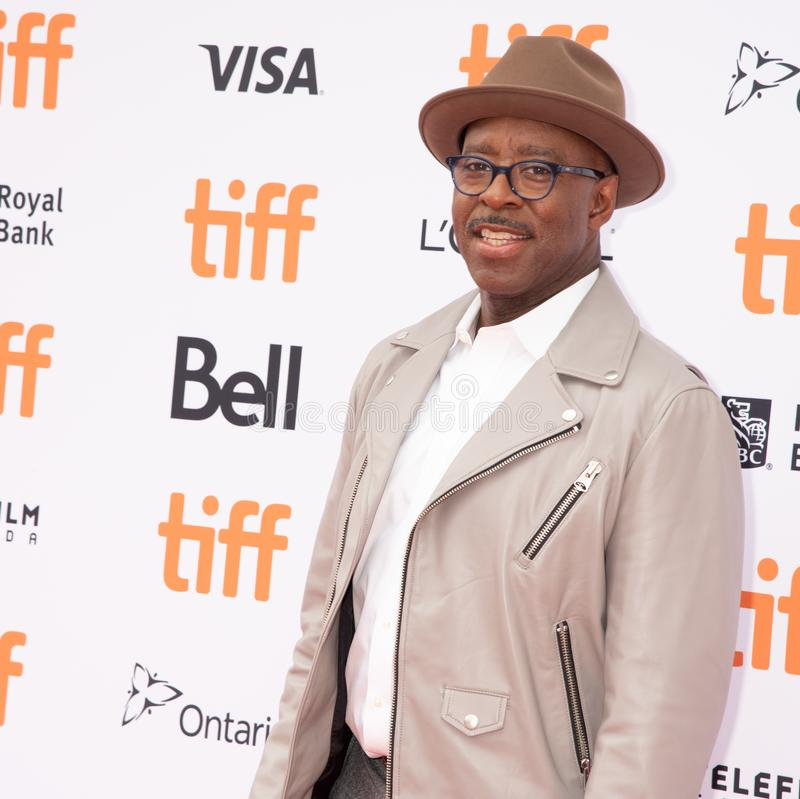Courtney B Vance bij de première van Ben Is Back, Internationaal de Filmfestival 2018 van Toronto stock foto's