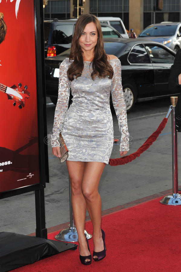 Download Courtney Ford editorial stock image. Image of angeles - 26911879