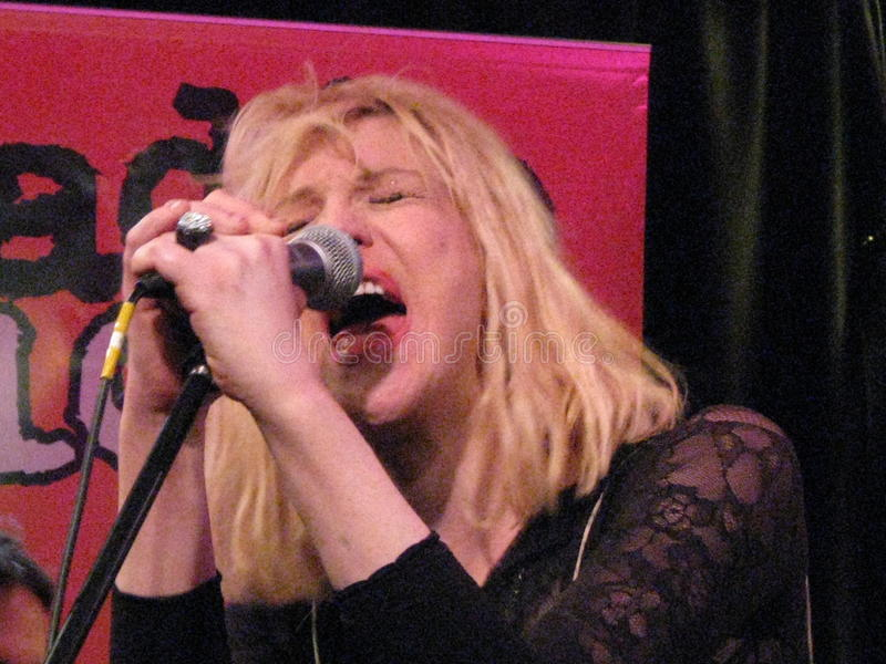 Courtney Love royalty free stock images