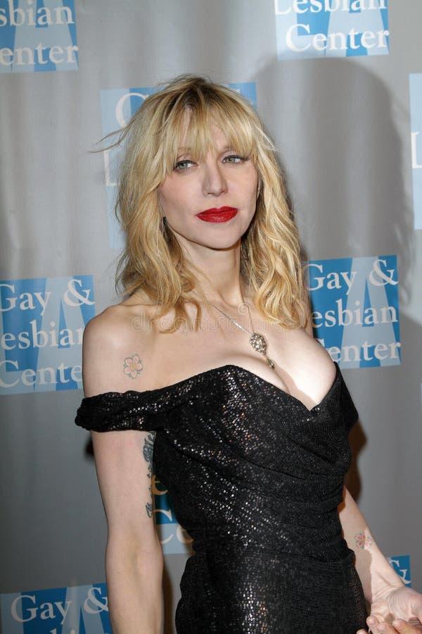 Courtney Love in dem L.A.Gay und der lesbischen Mitte   stockfoto