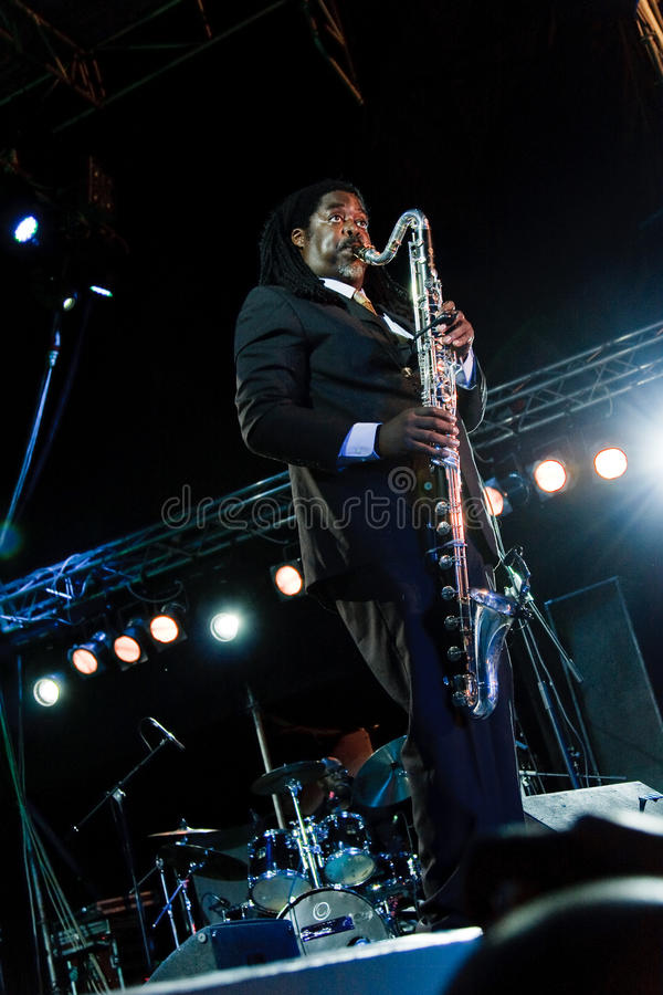 Download Courtney Pine, Jazz Koktebel Festival 2009 Editorial Photo - Image: 15803691
