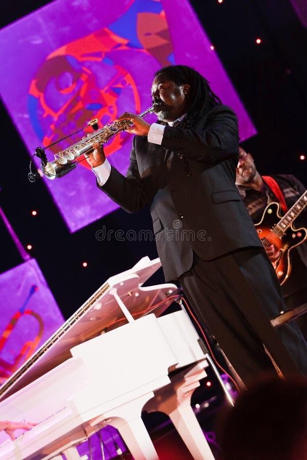 Download Courtney Pine, Jazz Koktebel Festival 2009 Editorial Stock Image - Image: 15803704