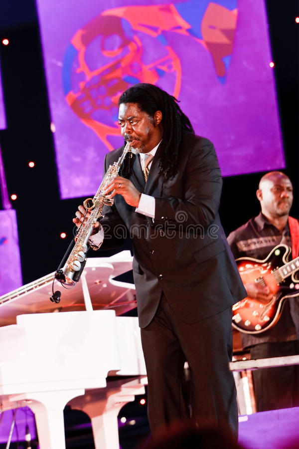 Download Courtney Pine, Jazz Koktebel Festival 2009 Editorial Image - Image: 15803710